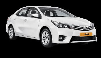 аренда машин долгосрочно по цене 24.9€ в день за Toyota Corolla